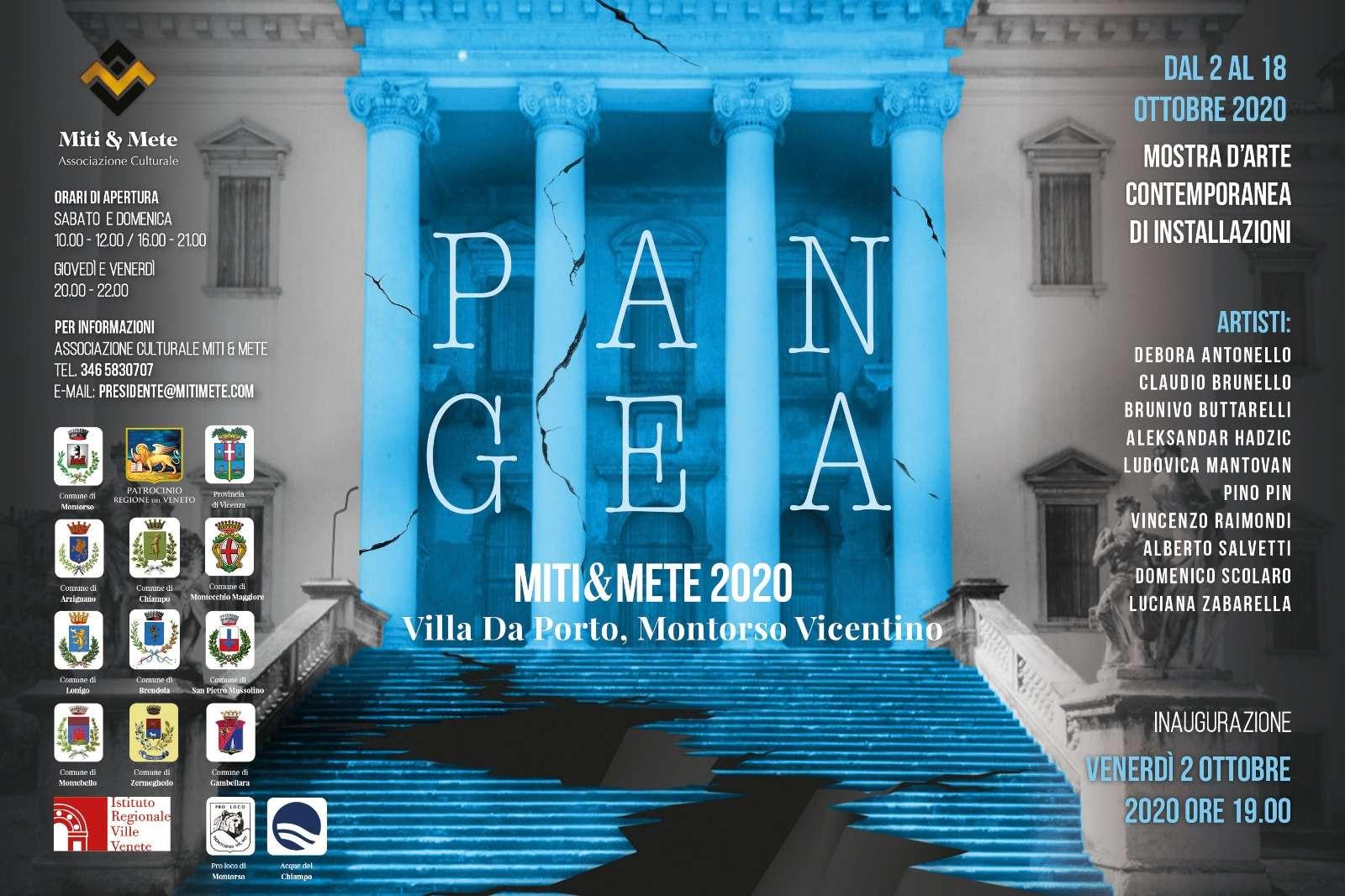 Pangea - Miti e Mete 2020